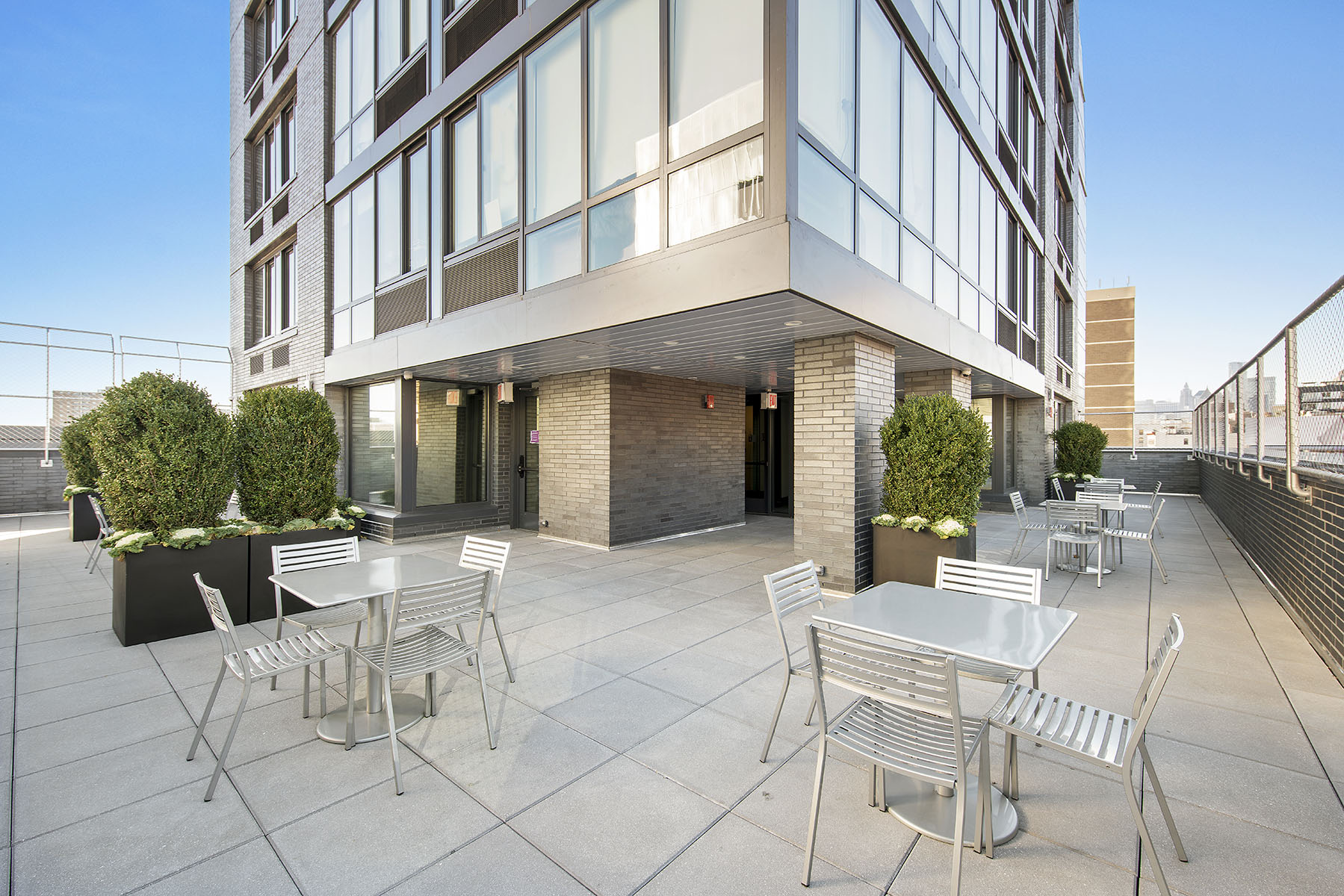 Cooper Square Residence Wrap Around Terrace