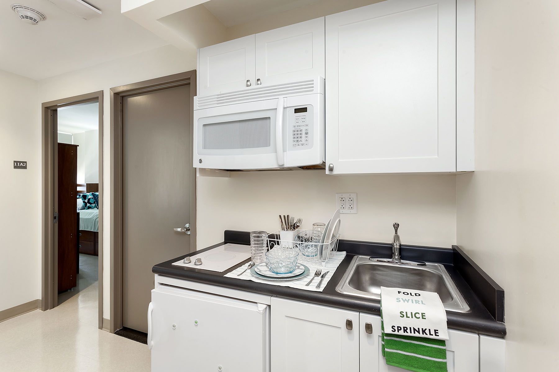 Cooper Square Residence Unit Kitchenette