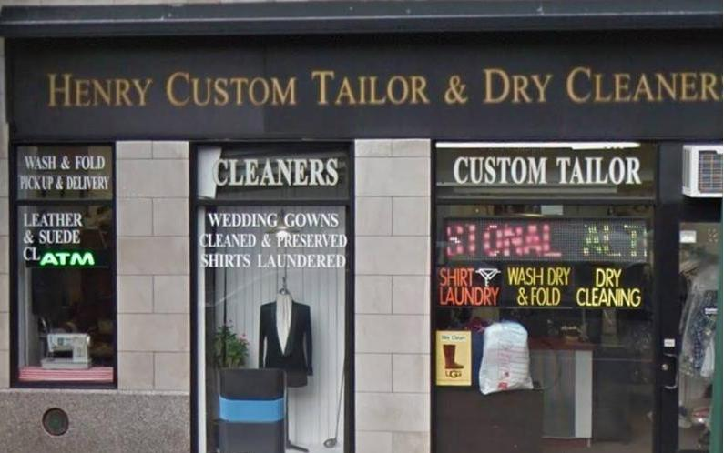 Henry Customer Tailor & Dry Cleaners