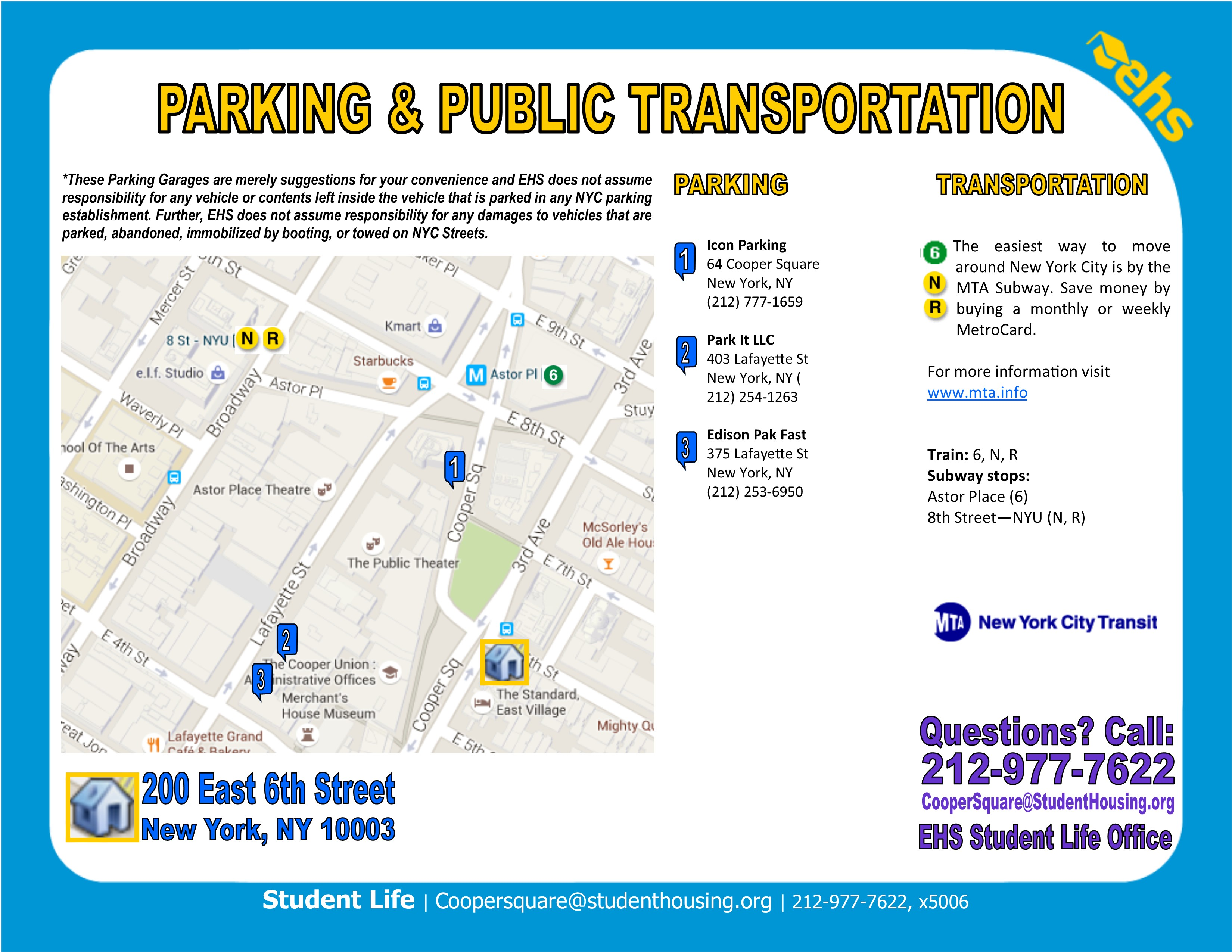 Nyc Student Housing Locations Student Amp Intern Housing